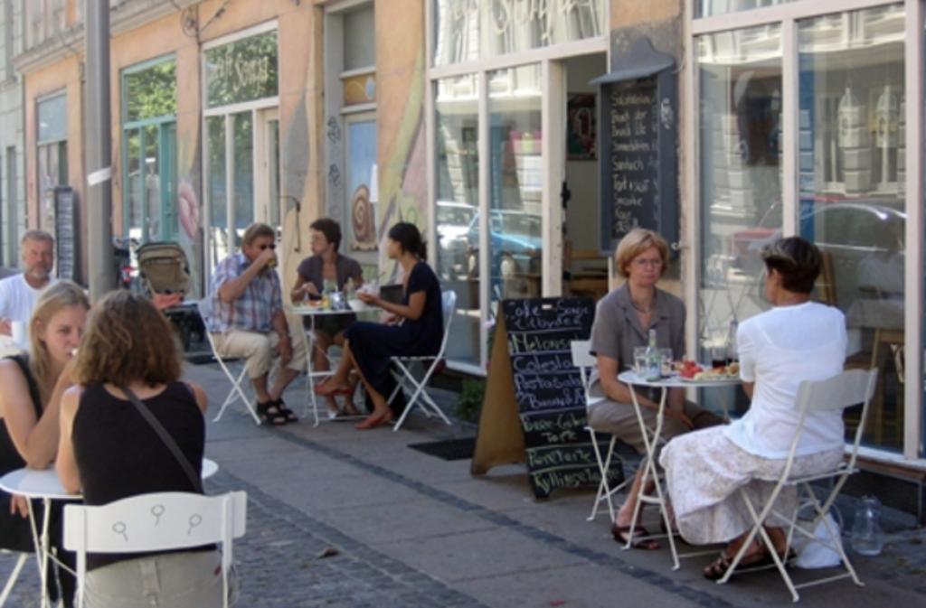 Café Sonja - ammevenligt sted for nye mødre